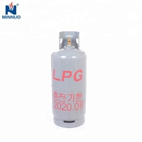 Empty Refillable Steel Made 20kg portable lpg gas cylinder