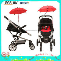small baby trolley push car umbrella also can put on bike and wheelchair