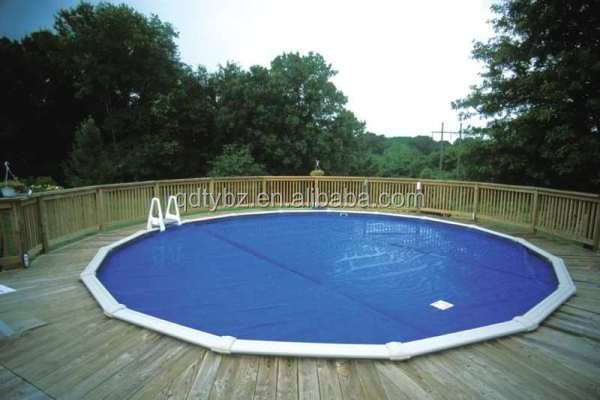 2015 Outdoor Underground Air Bubble Swimming Pool Solar Cover Plastic Pool Covers