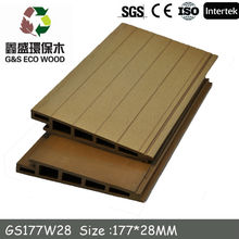 Wood Plastic Composite WPC Wall Panel /WPC decking Manufacturer