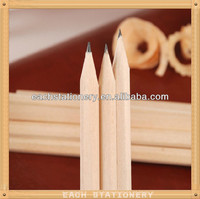 High Quality 7'' hexagonal cheap wholesale pencils, natural wood pencils