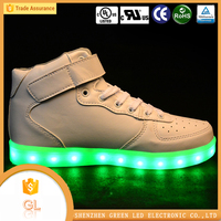 Women sports shoes hip-hop luminous guangzhou shoes men