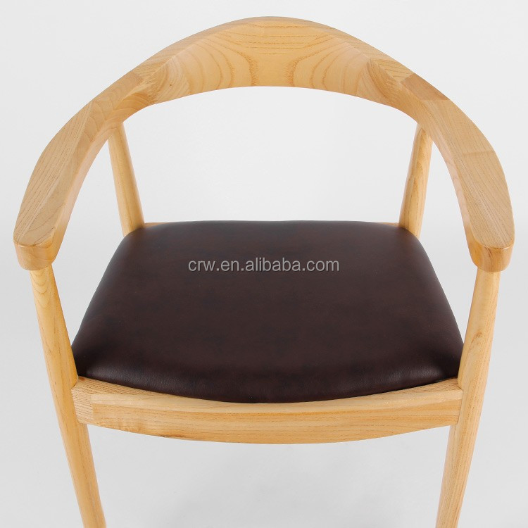 Armrest dining chair solid wood chair designs Kennedy chair