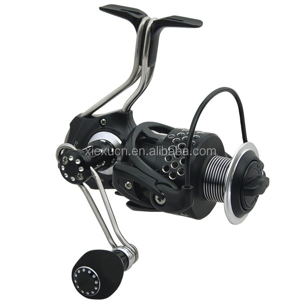 OEM design custom black aluminum spinning fishing reel power handle knob