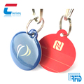 Waterproof Epoxy Coating Smart RFID Round NTAG 213 NFC Key Tags