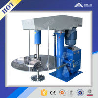 Chemical hydraulic lifting high speed dispersion machine