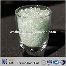 1080-1120C Excellent Transparency And High Glossy Transparent Frit Ceramic Glass Frit Ground Coat Enamel Frits