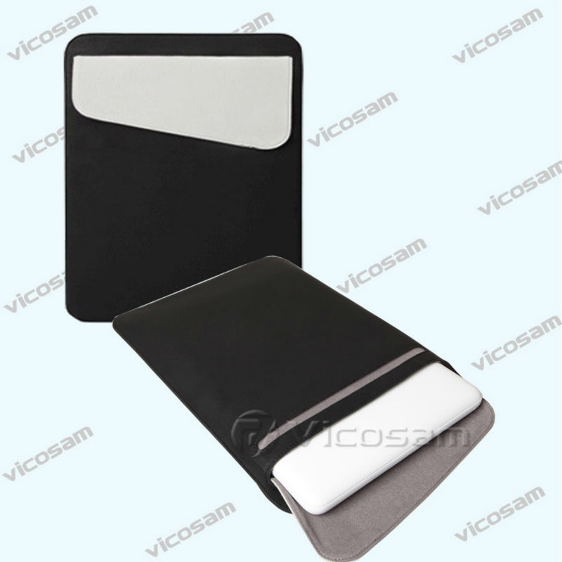 Hot! Univeral Sleeve Leather Tablet Case for iPad 2/3/4