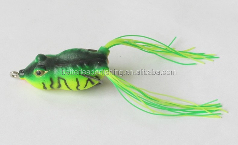 45mm 8g cheap plastic sea bass frog lures fishing lure frog