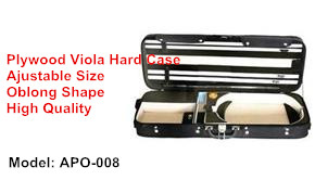 plywood viola hard case