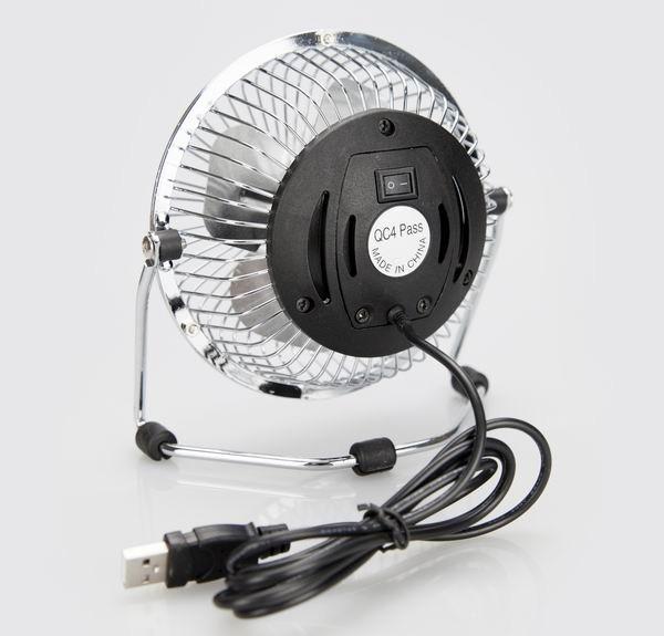 4 Inch Desk Fan : Inch usb powered antique small metal ventilation fan