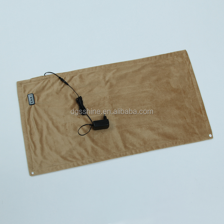 high quality microfiber material Car Heating Pad