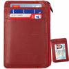 hot selling portable RFID blocking card wallet leather