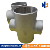 304 304L pipe fitting stainless steel cross elbow