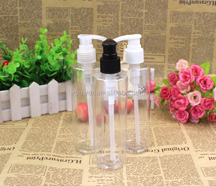 Hot sale 200ml PET Plastic Bottle, cosmetic bottle, plastic bottle <strong>spray</strong>