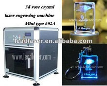 3d photo laser crystal/glass engraving machine
