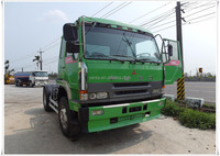 [423-UY] Used Fuso tractor trailer truck head for sale