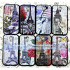 Custom wholesale Eiffel Tower pattern mobile case for samsung s4