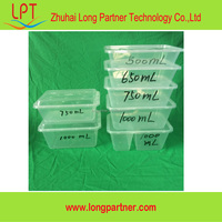 Popular 500ml frozen pp plastic food container for sale