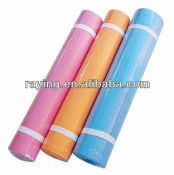 Eco-friendly anti-slip eva fitness yoga mat/pilates mat