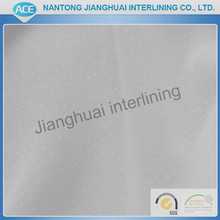 Double polyamid wool fusible garment interlining