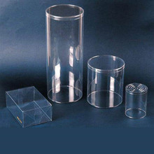 large packaging round gift box clear plastic cylinder packaging plastic clear cylinder packaging