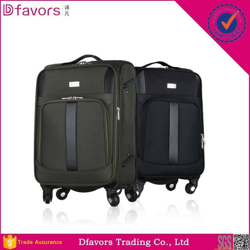 Brand new upright luggage /trolley bag suitcase fashion trolley case/wheeled luggage travel tolly bag multiple colors