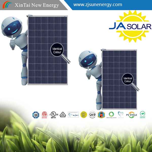 JA SOLAR PANEL Factory Directly sells with full certificate POLY 260w 265w 270w 275w 280w PV MODULE