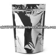 Resealable foil packs for sports health dietary supplements - heat sealable - pouch sachet aluminium food grade wholesale bulk