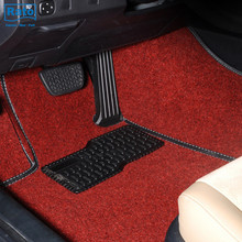 new product colorful full set floor pvc car mat flooring carpet for sale