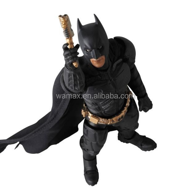 Wholesale customized plastic the batman action figures toy