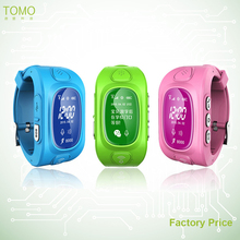 Automatic positioning smart gps watch geo-fence portable gps tracking mobile phone for children