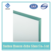 User-friendly laminated front glass