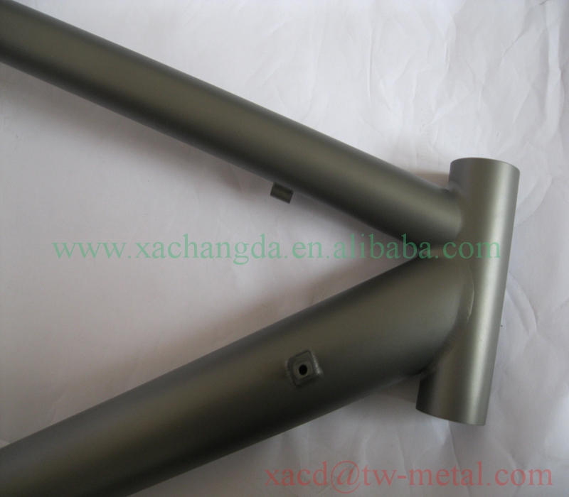 titanium road bike frame with normal specs xacd made ti road bike frame customized titanium road bicycle frame