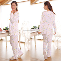 100%cotton formal comfortable cute pajama sets AK063