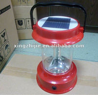 4led Rechargeable Solar Lantern With Mobile Phone Charger Tent Lantern