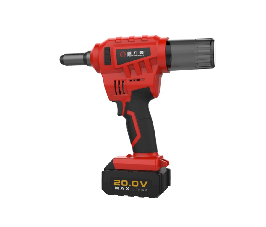 High quality 20V cordless rechargeable brushless electric rivet <strong>gun</strong> CQ-60025