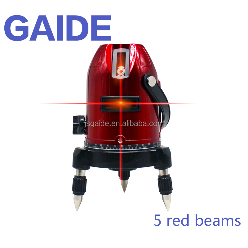 Red electronic leveling rotating vertical construction laser levels