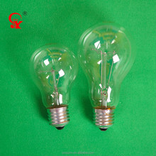 Incandescent light bulbs e27 long lifetime light incandescent bulbs