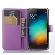 Best selling products PU leather book style cover for xiaomi mi 4c china wholesale