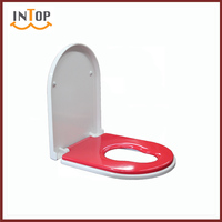 Comfortable Adult and Child used one button and quick release Duraplst toilet seat