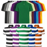 Mens Custom Adults Polo T Shirts