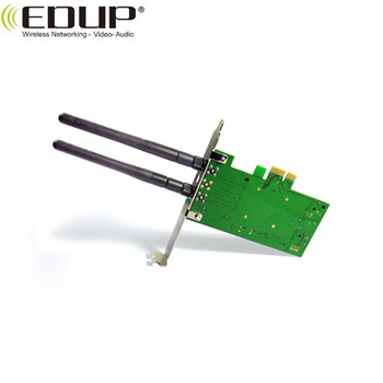 EDUP 300Mbps wireless PCI-E adapter 802.11N PCI-E adapter with 2 2dBi antenna
