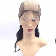 Wholesale top grade virgin brazilian remy human hair silk base full lace wig, good quality human hair wig