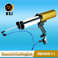 1500ml1:1 Dual Automatic Air Spray Gun For Silicone /Sealant /Resin