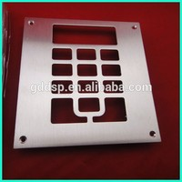 Top quality custom sheet metal cutting fabrication service