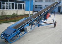 High quality Adjustable height belt conveyor for sale