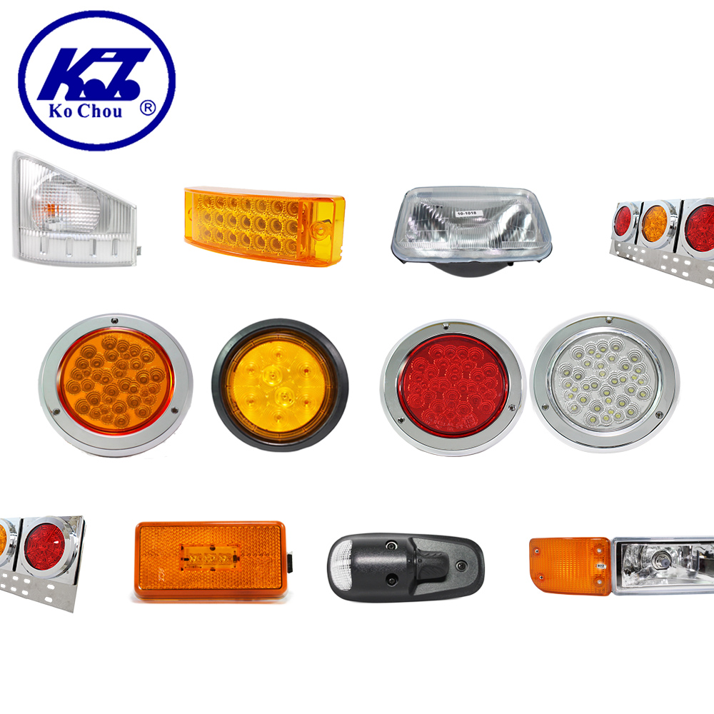 Truck led lights headlight and fog lamp tail light for marker