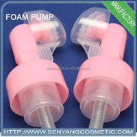 40mm foam soap pump sprayer dispenser plastic foam pump sprayer with bottle