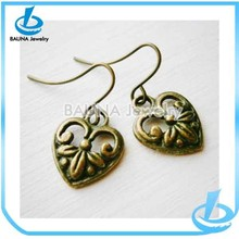 Fashion vintage clip on indian antique earrings